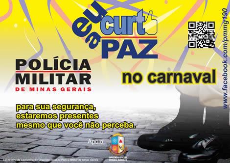 Dicas da PM de Prados para o Carnaval 2014