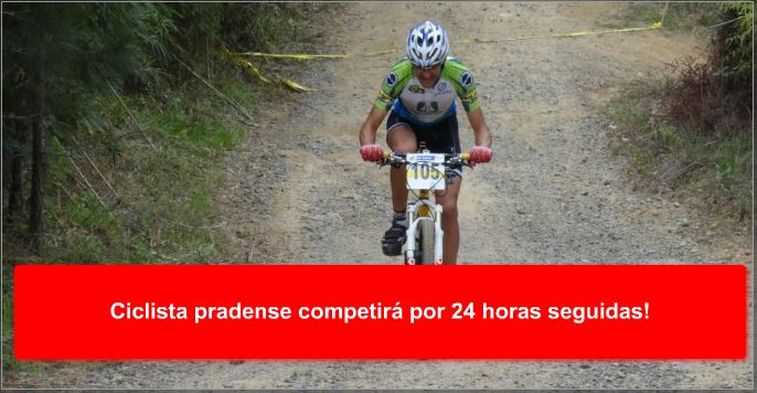 Ciclista pradense competirá por 24 horas seguidas!