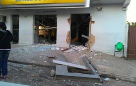 Flagra do leitor: Bandidos explodem agência do Banco do Brasil