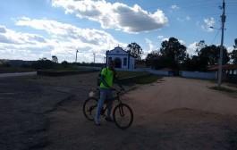 EXCLUSIVO: Aventureiro Pradense está rodando 4.000 Km de bicicleta