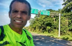 3 Estados e + de 2000 Km já se foram. Confira onde está Jair neste momento...