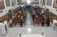 Paróquia de Prados retorna com missas presenciais e cria agendamento online