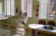 Santa casa de Prados recebeu dedetização gratuita contra o Coronavírus