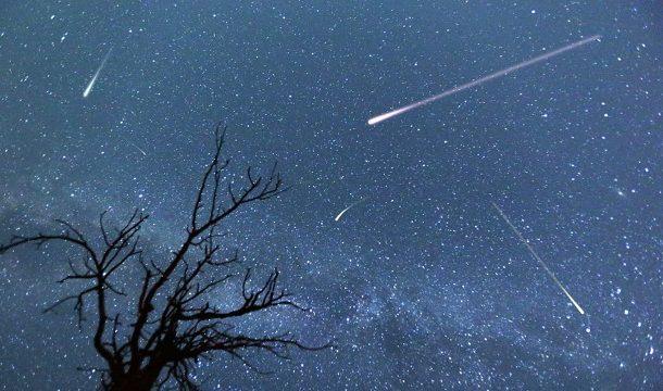 Duas chuvas de meteoros poderão ser acompanhadas nesta semana