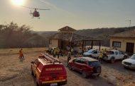 TRISTEZA: Serra José arde em chamas desde segunda-feira
