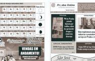 EDIÇÃO 81: Circula amanhã o Prados Online impresso de setembro