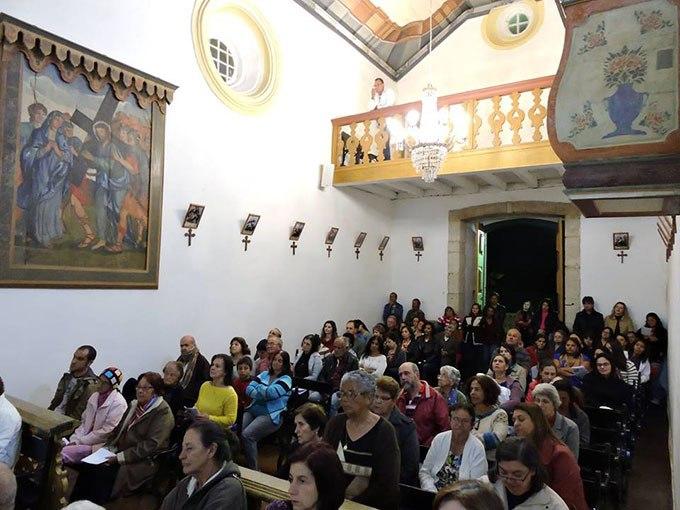 Imagem da 1ª Missa em Italiano, realizada em Maio de 2016.
