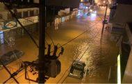 Chuva causa alagamentos em Lagoa Dourada