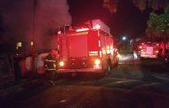 Incêndio deixa uma vítima fatal nesta madrugada em Barroso