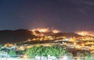 IEF e bombeiros combateram incêndio de grandes proporções na Serra São José