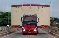 ATENÇÃO: haverá transporte de carga excedente na BR-265 nesta segunda-feira