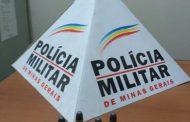 PM prende mulher e apreende munição em Prados