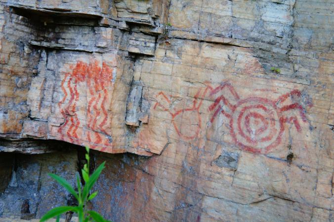 Pinturas rupestres no Complexo da Zilda