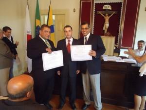 foto do dia da entrega dos diplomas
