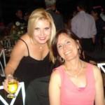 Suzana e sua mãe Aparecida