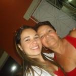 """Letícia e sua mãe, """"Preta do Eládio"""""""