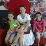 Luan, Cailinne e sua mãe Roberta