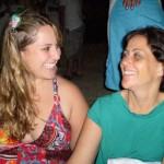 Christiane e sua mãe Maria Jacinta