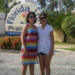 Thais e sua mãe Marcia