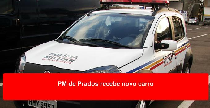 Carro roubado é apreendido em Prados