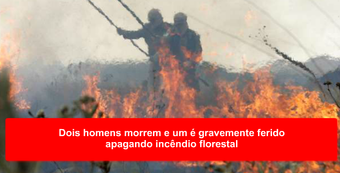 Incêndio no centro de Dores de Campos assusta moradores
