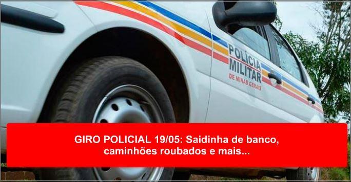 PM de Prados prende dupla e apreende crack e cocaína