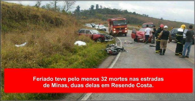 Micro-ônibus pegou fogo em Prados