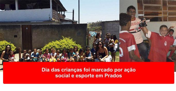 Pradenses celebraram a padroeira do Brasil