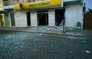 Bandidos estouram outra agência bancária na região