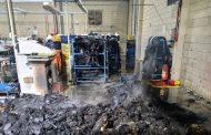 SUSTO: Princípio de incêndio na Marluvas em Prados