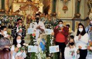 Paróquia de Prados encerrou festividades do mês de Maio com a presença do Bispo Diocesano
