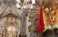 Após ser restaurado, São Miguel Arcanjo retorna à Matriz de Prados