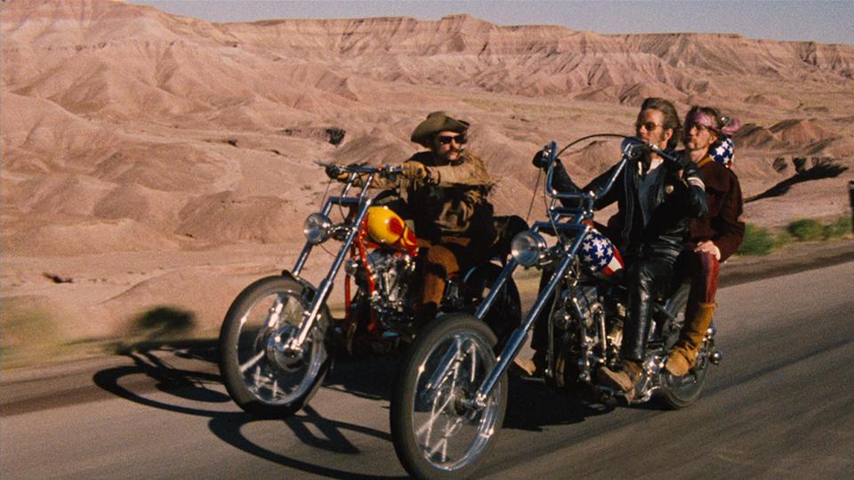 Cena do filme Easy Rider (1969)