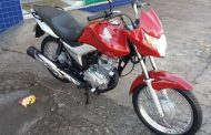 Moto é furtada em Prados. Compartilhe!