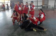 Meninas pradenses foram vice-campeãs em regional de futsal