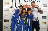 Pradenses brilharam na 10ª Copa Barbacena de Jiu Jitsu