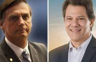ELEIÇÕES 2018: Segundo o Ibope, diferença entre Bolsonaro e Haddad diminuiu. Já em Minas, Zema amplia a frente sobre Anastasia.