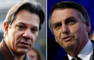 Eleições 2018: Segundo Ibope, Bolsonaro cresce 1 ponto e Haddad 2 pontos