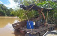 OURO: Trio é preso durante operação de combate a garimpo ilegal na região