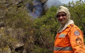 Bombeiro de Barbacena morre enquanto combatia incêndio